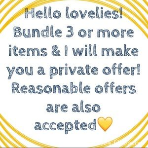 Other - 💛Bundle=save!💛Reasonable offers accepted💛